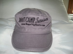 Shape It Up Exclusive Boot Camp Survivor Hat
