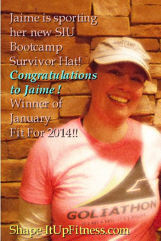Winner of Jan Fit For 2014- Jaime Schaffer