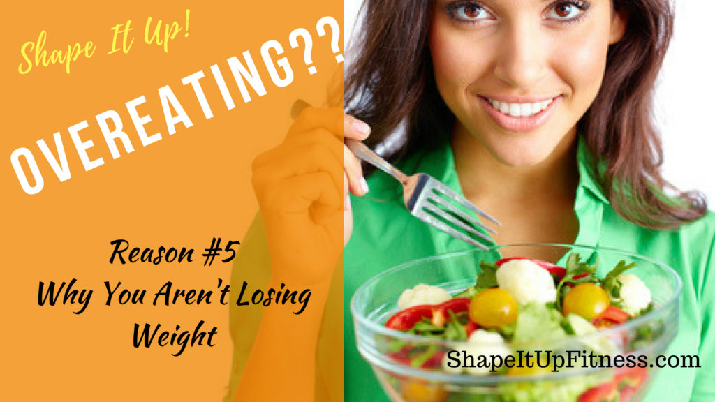 5 Reasons why not losing weight Nicole Simonin Shape It Up