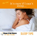 Get A Great Night's Sleep Shape It Up Nicole Simonin