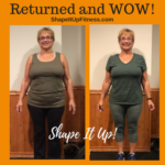 Sharon Success Story Shape It Up!