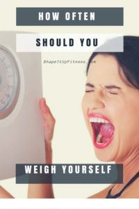 How often should you weight yourself