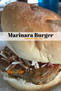 Marinara Burger Shape It Up Recipes