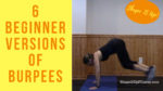 Burpees will help with aging Shape It Up Nicole Simonin