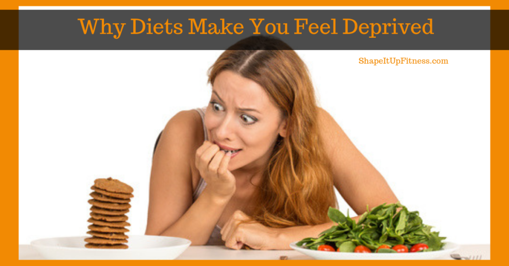 Diet Deprivation: Why Diets Make You Feel Deprived Shape It Up Nicole Simonin