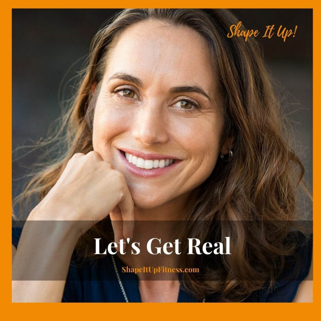 Let's Get Real -Thanksgiving Day Nicole Simonin Shape It Up